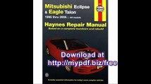 Mitsubishi Eclipse & Eagle Talon 95-05 (Haynes Repair Manual)