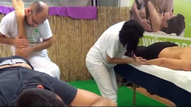 NEW ! Demonstrations of Massages at the Festival of the East