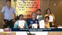 Kin of SAF 44 review of downgraded case vs. ex-Pres. Aquino