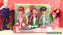 Princesse Disney Ariel La Petite Sirène Poupées Petite Toddler Ariel & Sisters Gift Set