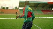 MHD and Cameroon football team dance like Roger Milla