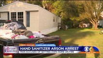 Man Accused of Using Hand Sanitizer to Set Girlfriend's Trailer on Fire