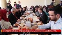 Erzincan Başbakan Yıldırım, Erzincan Üniversitesi Akademik Yıl Açılışı ve Fahri Doktora Tevcih...
