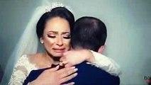 عروسه تنهار من مفاجأة عملها اخوها المسافر يوم فرحها وتبكي