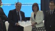 Liga española y Gobierno argentino trabajan contra la violencia en el fútbol