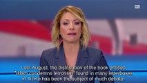 Adnan Oktar's Book 'Islam Denounces Terrorism' on Swiss RSI TV Channel