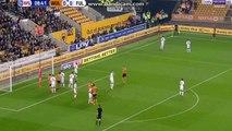 Romain Saïss Goal! Wolves Vs Fulham 1-0! 04-11-2017
