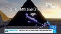 Gizeh, Égypte - Découverte d'une cavité de la taille d'un avion de 200 places dans la Pyramide de Khéops