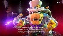 Super Mario Odyssey - SECRET Final Boss Dialogue w/ All Costumes (Spoilers, Duh!)