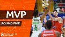Turkish Airlines EuroLeague Regular Season Round 5 MVP: Nando De Colo, CSKA Moscow