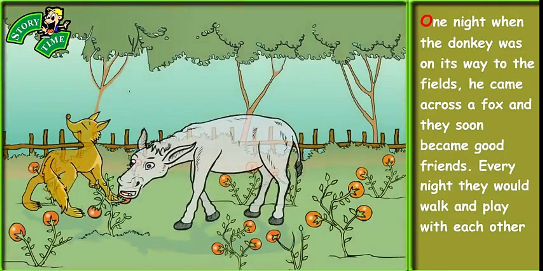 The Donkey's Song ¦ kids stories ¦ moral stories ¦ Bedtime Stories ¦ Fairy Tales