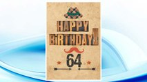 Download PDF Happy Birthday 64: Birthday Gifts For Men, Birthday Journal Notebook For 64 Year Old For Journaling & Doodling, 7 x 10, (Birthday Keepsake Book) FREE