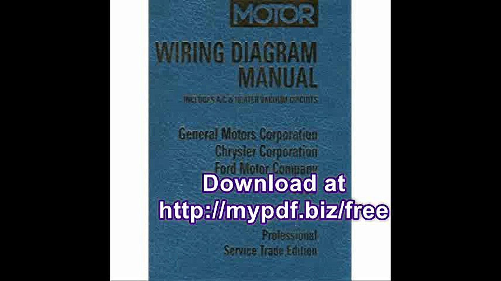 Ford Motor Wiring Diagram