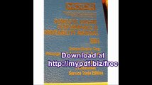 Motor Domestic Engine Performance and Driveability Manual 3 (Motor Domestic Engine Performance and Driveability...