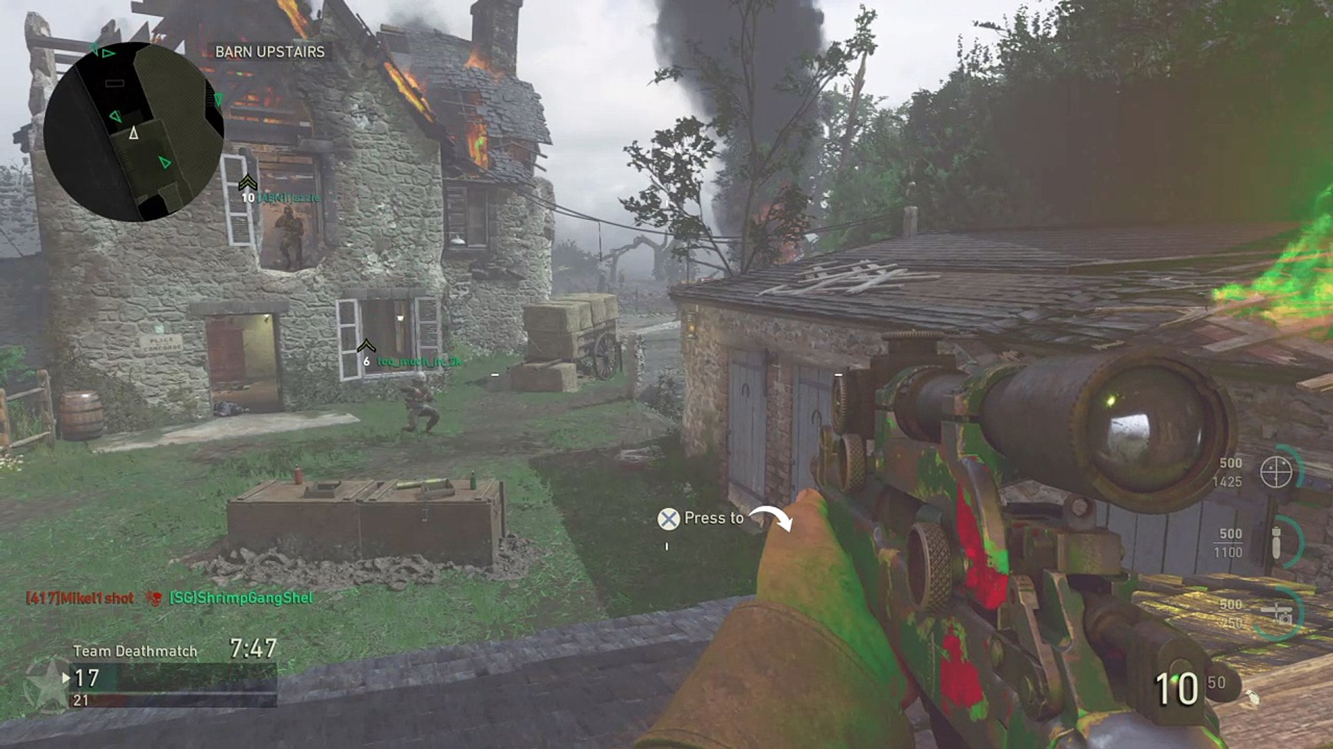 COD WW2 First ever game
