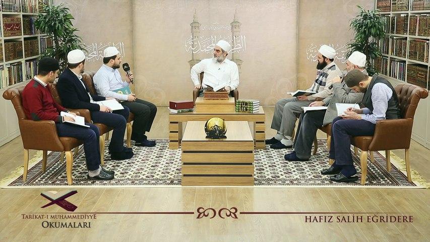 34) Tarikat-ı Muhammediyye Okumaları - Takva'nın Geçerli Olduğu Alanlar - [2]