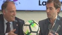 """Tebas: Guardiola conoce muy bien el fútbol, pero """"sabe muy poco"""" de derecho"""