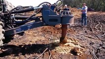 Hug Mega Machines!!...Extreme Bulldozer Forest Clearance Equipment Look So Seriously