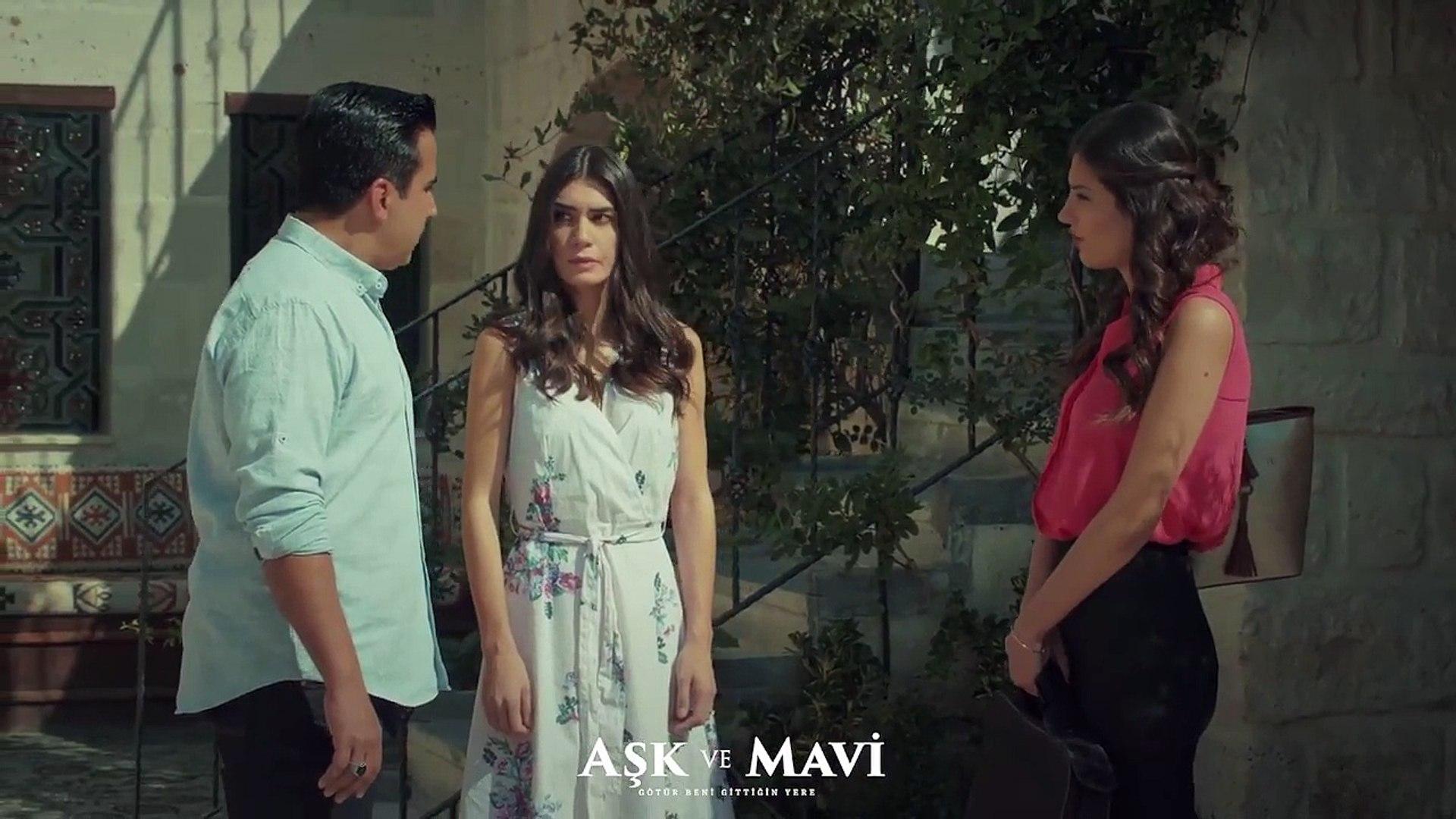 Aşk ve Mavi 36.Bölüm - Hasibe, Mavi'yi Sinem'e karşı uyarıyor!