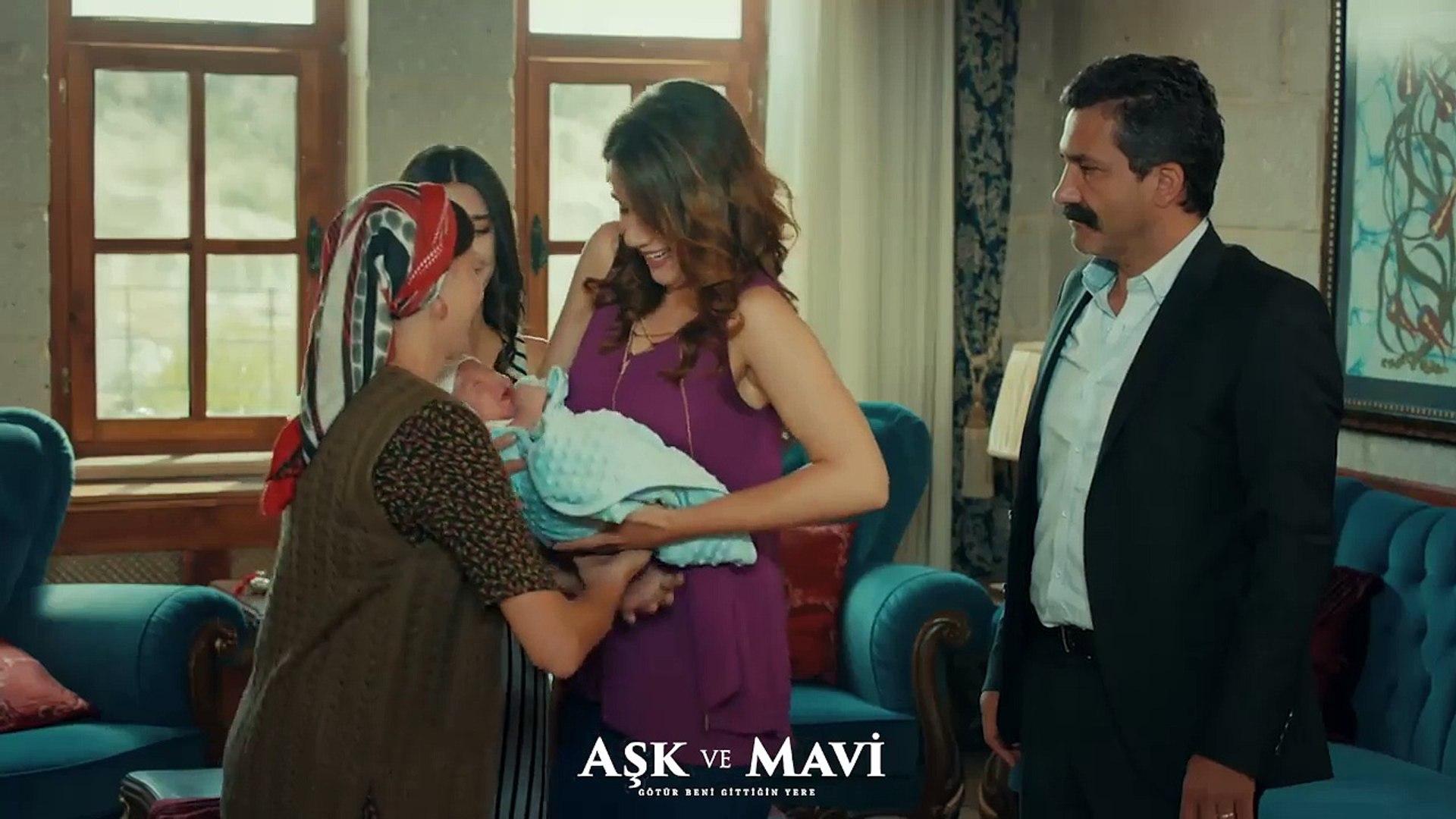 Aşk ve Mavi 34.Bölüm - Cemal, Fatma'nın bebeği sevmesinden rahatsız oluyor!