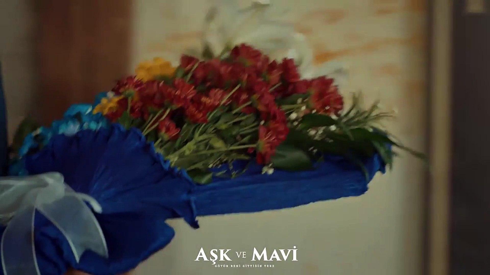 Aşk ve Mavi 39.Bölüm - Sinem, Ali'nin kartıyla kendine çiçek siparişi veriyor!