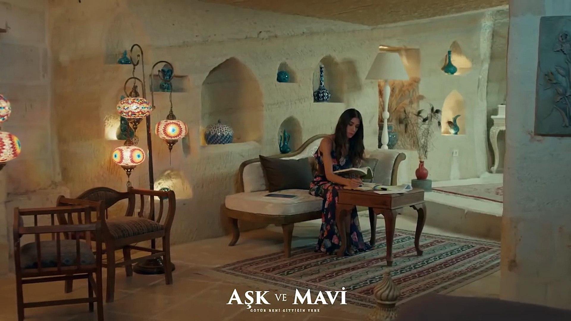 Aşk ve Mavi 39.Bölüm - Mavi, Ali'ye tokat atıyor!