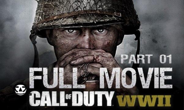 CALL OF DUTY: WWII Game Movie DEUTSCH I ALL CUTSCENES I Part 01