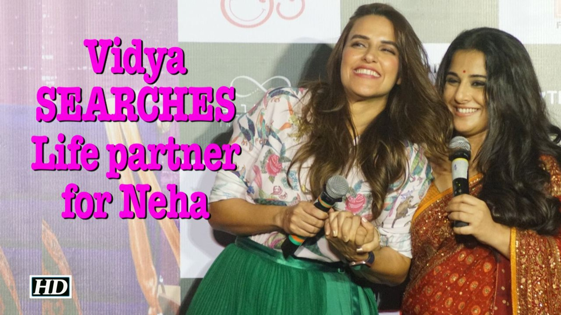Vidya SEARCHES life partner for Neha, plays a MATCH MAKER
