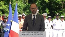 """""""Vous pouvez être fiers"""", dit Philippe aux secouristes martiniquais intervenus à Saint-Martin"""
