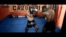 Sparring de Boxe vs Kick (Aula Comercial) - MUAYTHAI