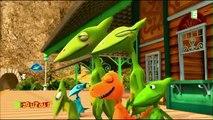 ABC Dino ! Lîle du A / Lîle du B / Lîle du C (dessin animé enfants)