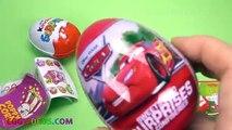 Super Surprise Eggs Kinder Surprise Kinder Joy Frozen Elsa Cars Learn Colors Mickey Mouse Clubhouse