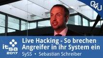 Live-Hacking mit Sebastian Schreiber - it-sa 2017 | QSO4YOU Tech