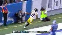 Ben Roethlisberger to Juju Smith Schuster 97 Yard Touchdown Steelers vs Lions