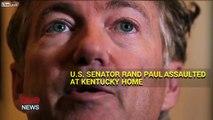 US Senator Rand Paul Assaulted At Home In Kentucky