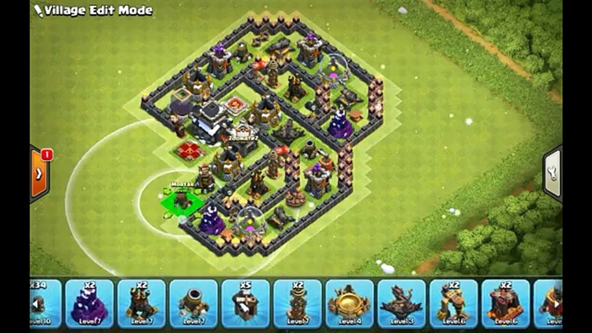 New Unbeatable Town Hall 9 Base Layout Coc Th9 Best Trophy Pushing Base 2017 Clash Of Clans Video Dailymotion