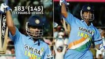 Ms dhoni 183 in 145 balls 12 years ago in 2005  Unforgettable memories
