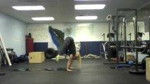 [Press Handstand From Floor]HOLY COW! Check out this Press Handstand from the floor from IronValkyrie Ingrid Marcum