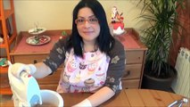 Cupcakes de chocolate con letras personalizadas :: Fondant cupcakes :: Recetas
