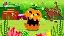 Halloween Sharks  ハロウィン シャーク  サメの家族  Halloween Songs  ハロウィンソング  ピンキッツ英語童謡