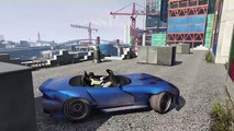 GTA 5 MODS - EXTREME VERTICAL RAMP - FUNNY VEHICLES MOD (Grand Theft Auto Gameplay Video)