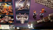 Lego Star Wars 7961 Darth Mauls Sith Infiltrator Review