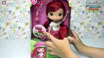 Ellie V Strawberry Shortcake Styling Doll Unboxing Review and Play - hair styling