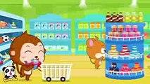♬Supermarket  お買い物ごっこ  赤ちゃんが喜ぶ英語の歌  子供
