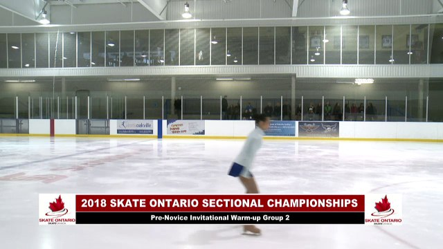 2018 Skate Ontario Sectional Qualifying - Pre Novice Invitational Free Program - Group 2