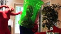 Spiderman & Frozen vs Joker! Spidey & Elsa Colored Ball Poo Prank! Funny Superheroes Movie for KIDS!