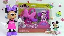 Pâte à modeler Minnie Mouse La Fabrique de Rubans Minnie Play doh