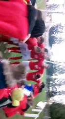 KOP 80 et les joueurs pour la victoire dans le derby !!