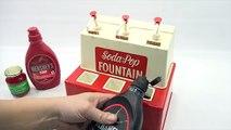 Soda Jerk! Vintage Soda-Pop Fountain Kids Drink Playset - Chocolate Coke, Root Beer Floats!