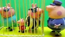 Свинка Пеппа Бандит Пропали Вещи из Машины